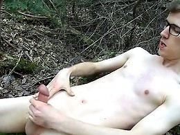 Outdoor Stroking With Sacha - Sacha West