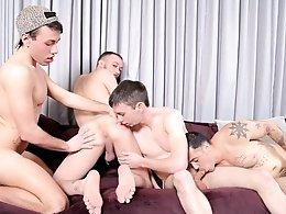 4 Boys 4 Cocks-Kirk Cummings,Trent Jackson,Jake Jammer,Blake Stone