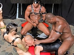 Lesson for a Slut Whore-Nubius,Luc Bonay,Draven Torres,Aron Ridge
