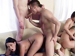 Bisex Creampie Orgy-Misha,Iveta,Mario,Jan,Michal,Honza,Chantal Ferrera,Carmen Dark