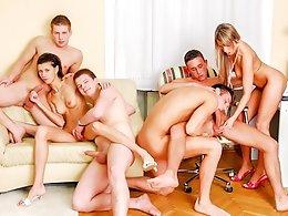 Bisex Creampie Orgy-Misha