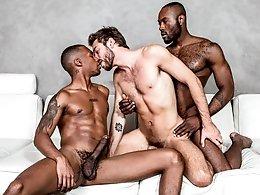 Stepbrother Threeway - Noah Donovan, Max Adonis, Jacen Zhu
