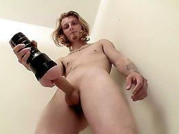 Str8 Boy Polishing His Rocket - Kenneth Slayer