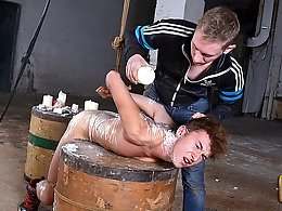 A Painful Experience For Ariel! - Ariel Black and Ashton Bradley
