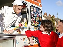 Two Twinks and The Ice-Cream Man - Aaron Aurora, Bradley Hayden and Jason Sutton