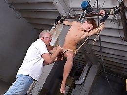 Ball-Tugging Cum Theft! - Ariel Black and Sebastian Kane