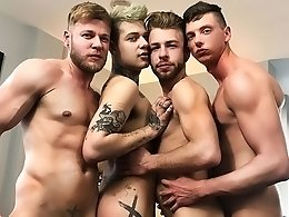 When the Party Turns into a Fourway - Billy Rock, Matthew Anders, Gabriel Phoenix and Mickey Taylor