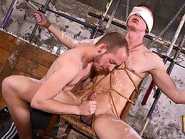 Blindfolded Boner Slurping - Billy Rock and Sean Taylor