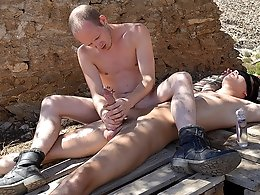 Tied Down For A Frotting Wank! - Charley Cole and Sean Taylor
