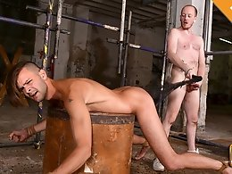 Slammed By Big Bare Cock - Dante Lucas and Sean Taylor