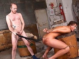 Thirsty Boy Gets Fed and Fucked! - Casper Ellis and Sean Taylor