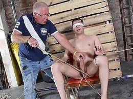 Hung New Arrival Mason Gets Stroked - Mason Madison and Sebastian Kane