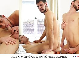 Alex Morgan and Mitchell Jones