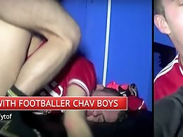Kinky gay sex with footballer chav boys