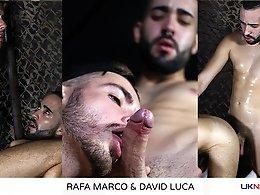 Rafa Marco and David Luca