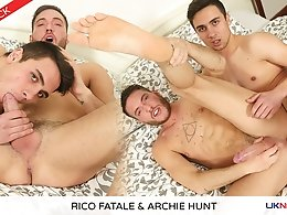 Rico Fatale and Archie Hunt