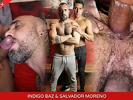 Indigo Baz and Salvador Mendoza