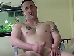 Army Boy Dustin Cassidy Jerks Off - Dustin Cassidy
