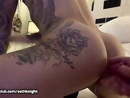 Young Tatted Boy with Big Ass Gets Fucked by the Knights!!