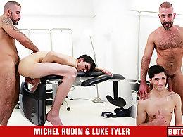 Michel Rudin and Luke Tyler