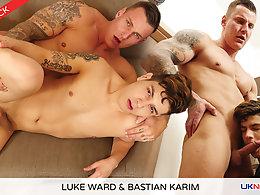 Luke Ward and Bastian Karim