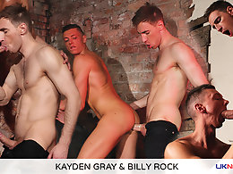 Kayden Gray and Billy Rock