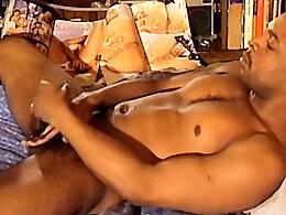Black Stud Miles Strokes His Big Cock - Miles K