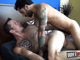 Jimmie Slater and Nick Cross Flip-Fuck Bareback